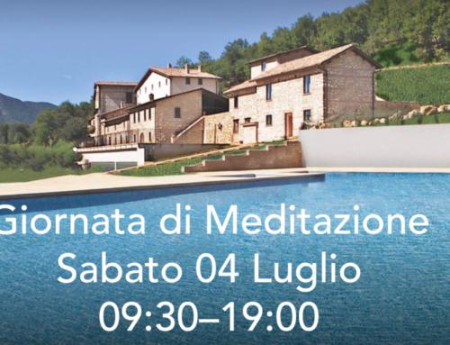 Giornata di Meditazione Sabato 04 Luglio 09:30–19:00