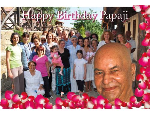 Felice Papaji's Birthday!  13 Ottobre 2020